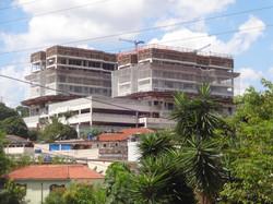 Vista da obra do Terminal Piquerí