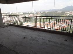 Colocação gradil - 11º andar