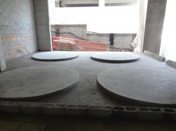 Execução de bases caixas d'água inf