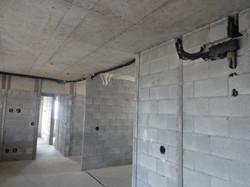 Execução infraestrutura ar condicionado - 3º andar