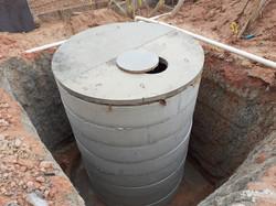 Reservatório para águas pluviais