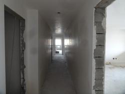 Gesso do hall dos elevadores