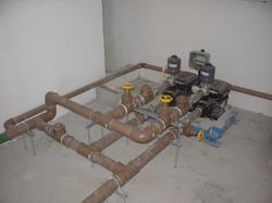 Pressurizadora instalada