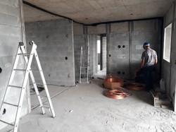 Execução de infraestrutura para ar condicionado - 11º andar