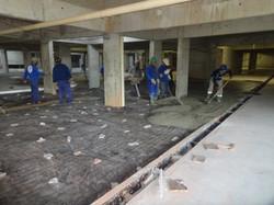 Concretagem do piso do 2oSS