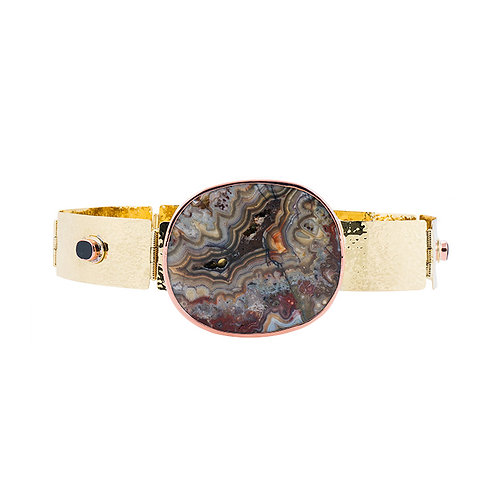 La Pedra Rebeka Mexican agate belt