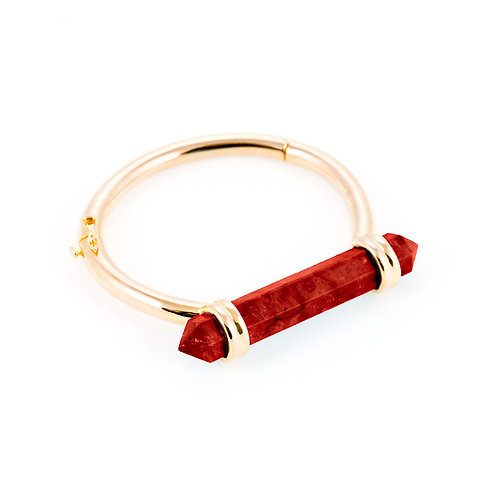 Love spell gold bracelet