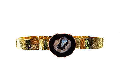 Ester Black agate belt