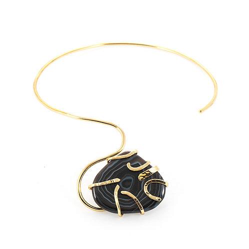 Ceca agate necklace