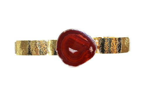 Robin Brown agate belt