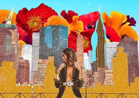 City Life Illustration by Julia Marineli