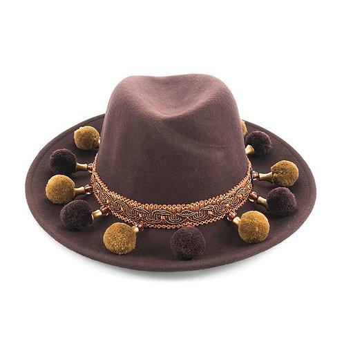 Brown Sugar Wool Hat