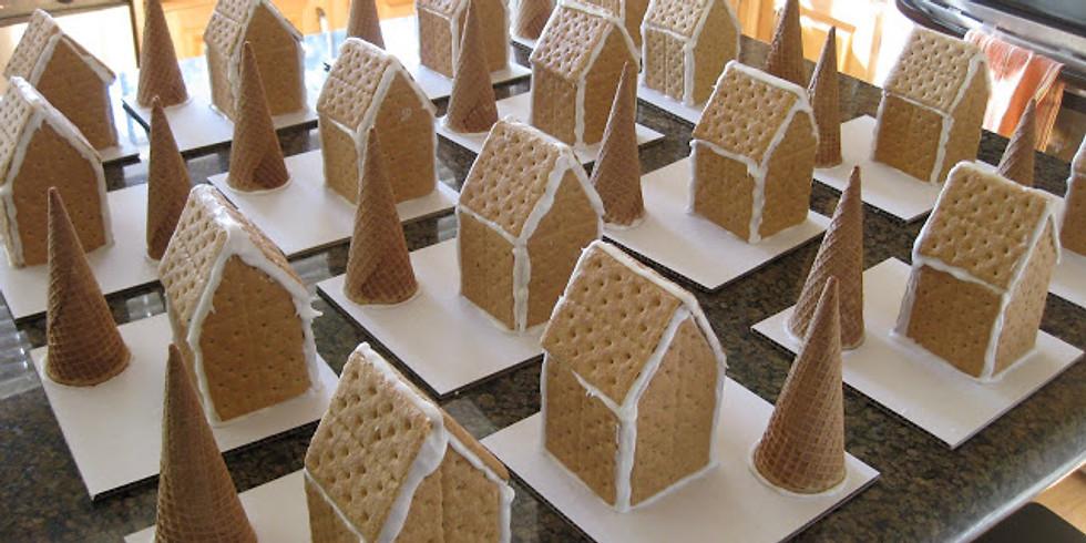 Gingerbread House Workshop-12/2 **FULL**