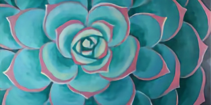 Paint Night- Succulent