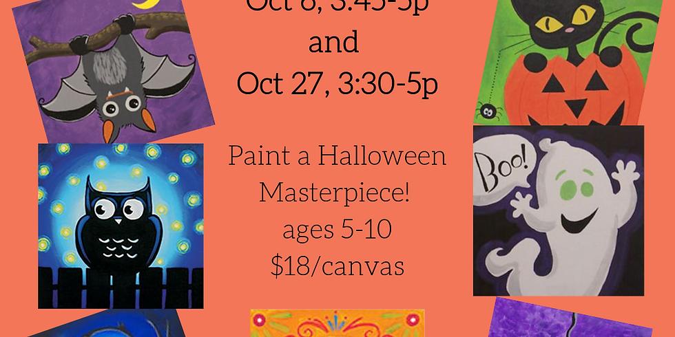Kids Paint + 10/27