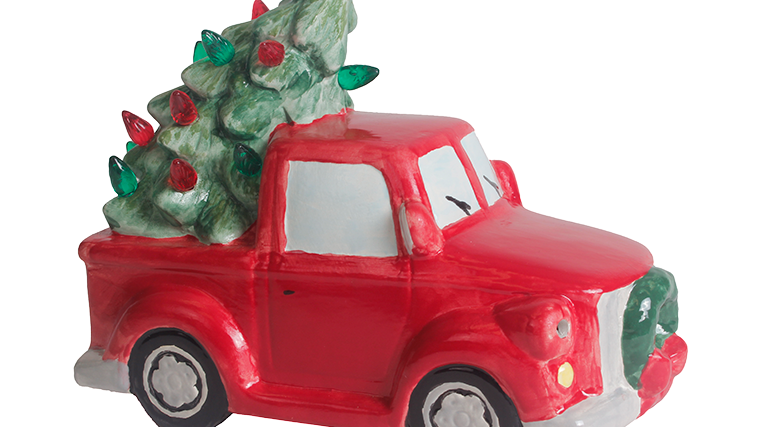 Ceramic Holiday Vehicle Kits