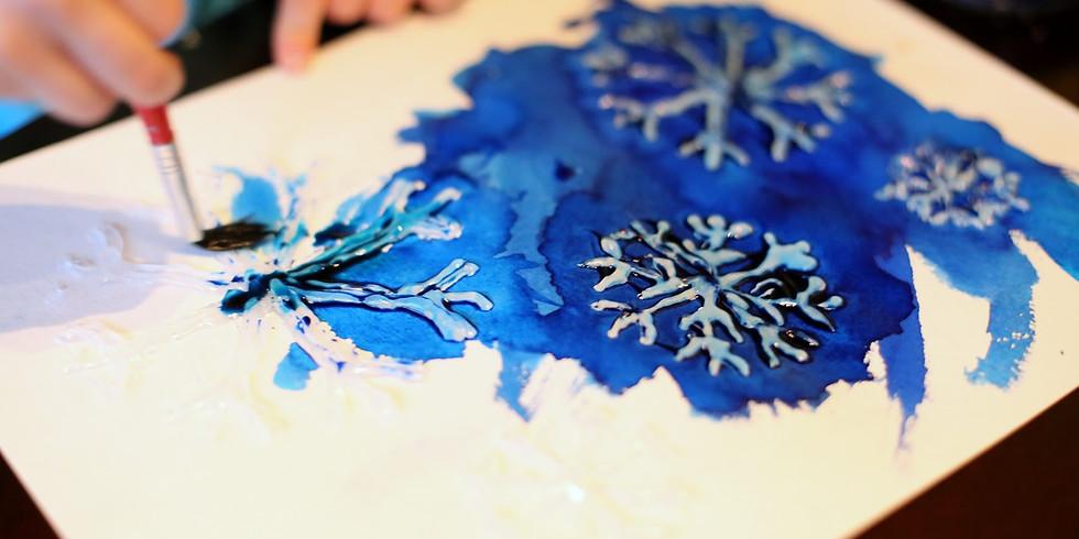 Homeschool Winter Watercolor Workshop