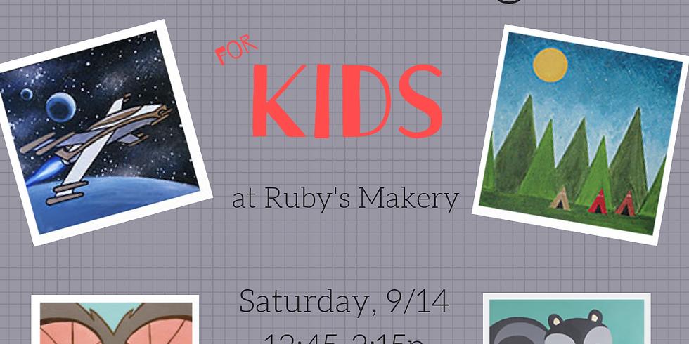 September Kids Paint-a-long