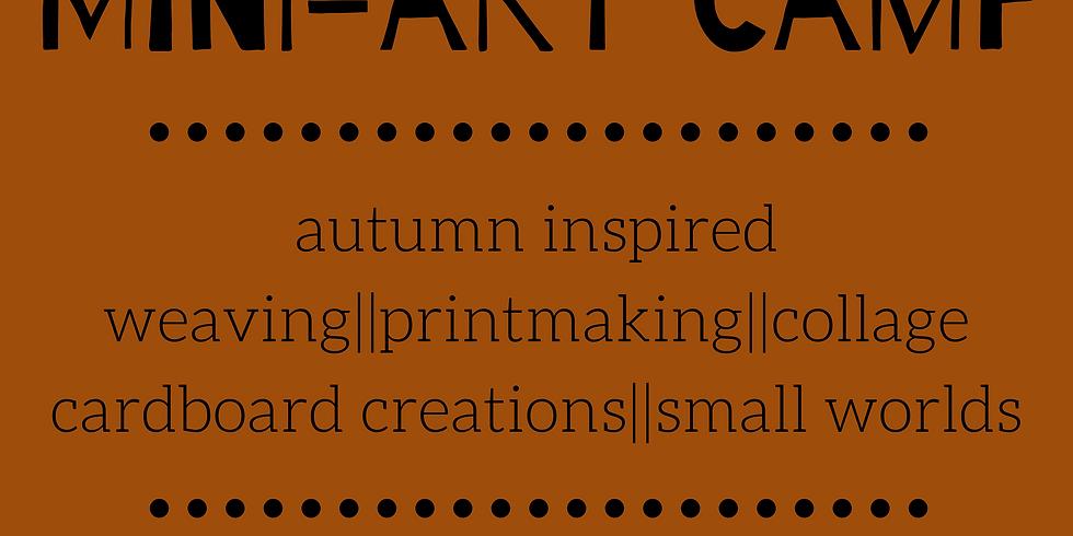 Nov. 1 Art Camp