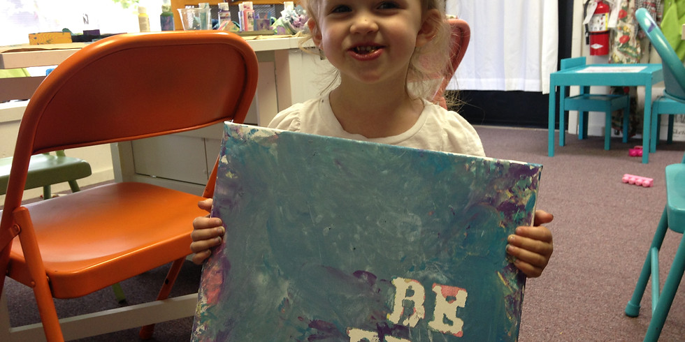 Toddler Paint Workshop