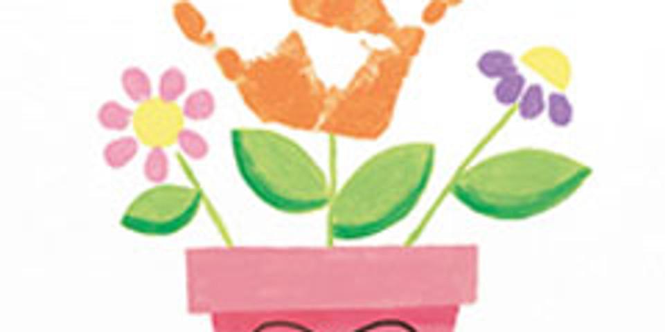 Kids Paint- Flower Pot