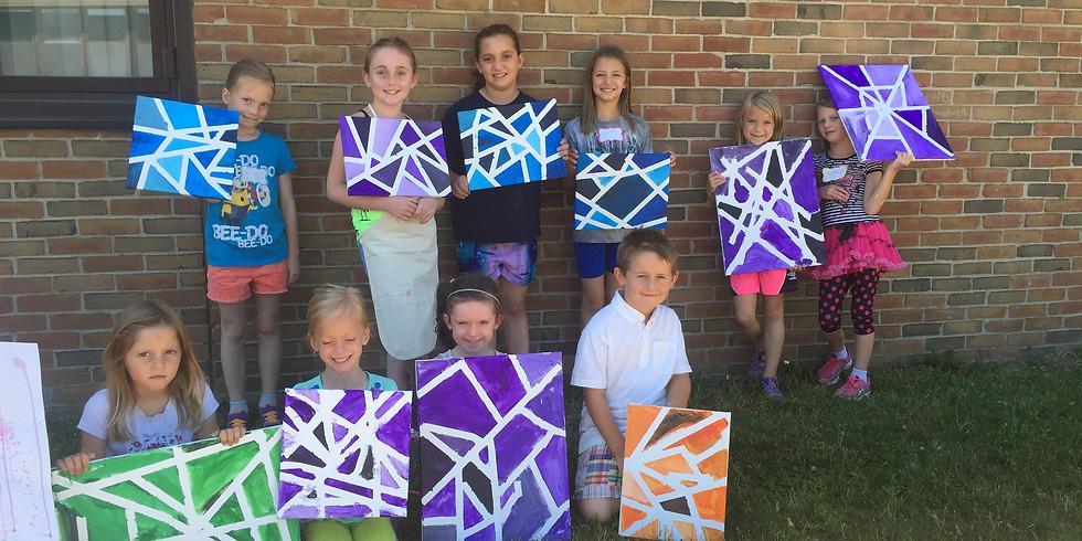 Colorsplash Art Camp Session 1