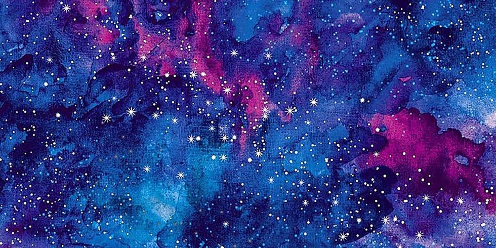 Watercolor Galaxy (Teen Paint)
