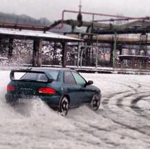 Drift im Schnee