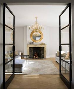 Exclusive doors made in a luxury villa  by www.jvr-design