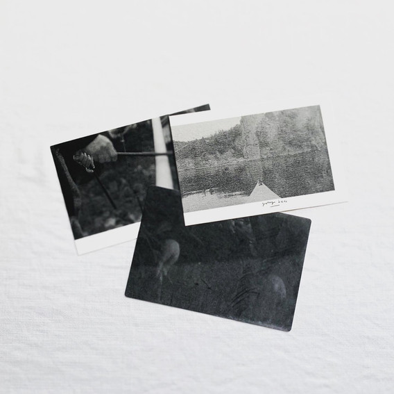 パンフレット ポストカード3種 オリジナル封筒