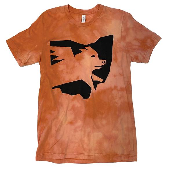 Ohio Logo Tee (Bleach Orange)