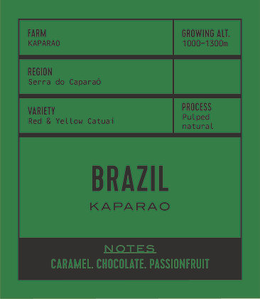 BRAZIL KAPARAO ( PULPED NATURAL)