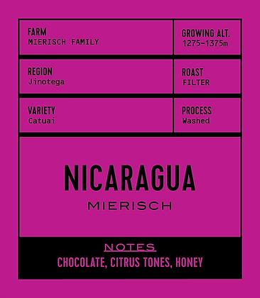 NICARAGUA FINCA MIERISCH