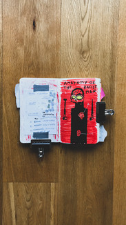 Diary of a lunatic /20-21' (sketchbøøk)