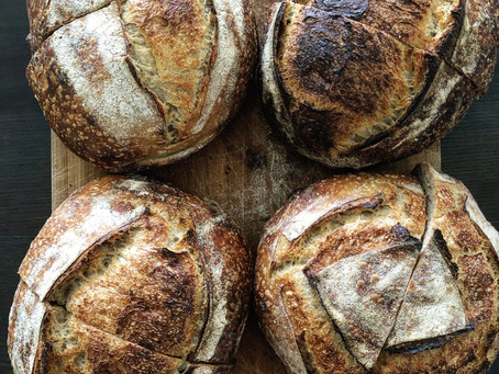 Recipe: How To Make Easy Country Sourdough Bread
