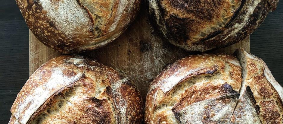 Recipe: How To Make Easy Country Sourdough Bread