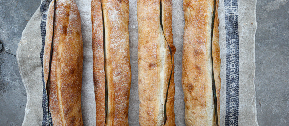 Receta: Pan Cubano de Masa Madre