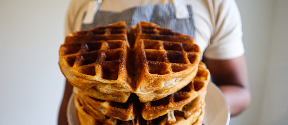 Recipe: Quick Sourdough Waffles
