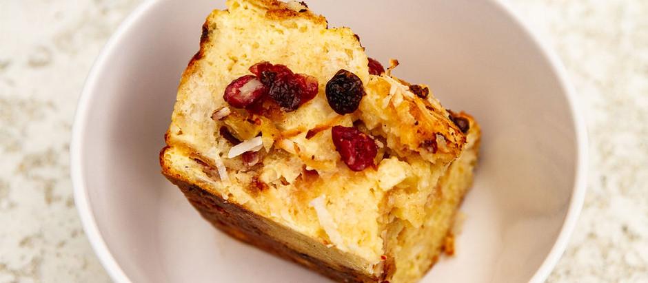 Holiday Recipe: Pan de Coco Bread Pudding