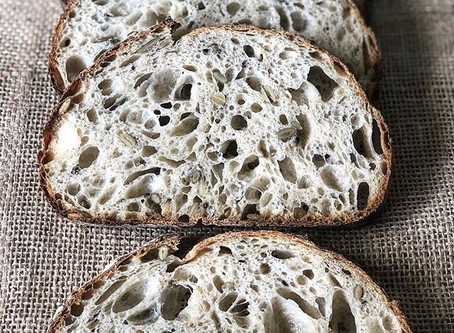 "Recipe: ""Same Day"" Rustic Seeded Sourdough"