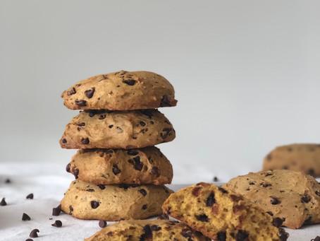 Recipe:  Sourdough Pumpkin Chocolate Chip Cookies