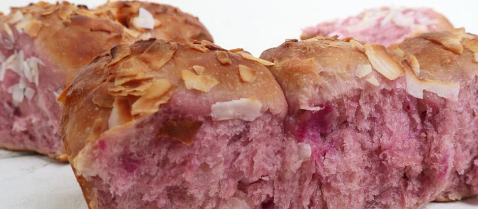 Recipe: Pan de Ube con Coco (collaboration with Make It Dough)