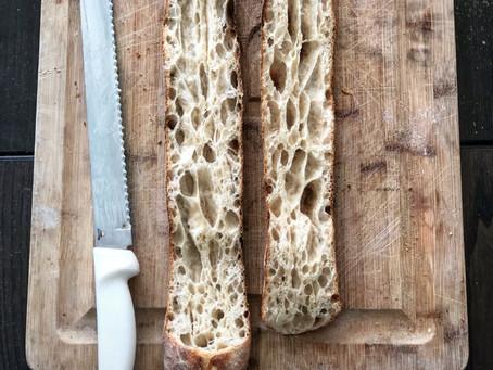Recipe: Sourdough Baguettes