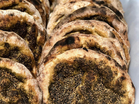 Recipe: Hominy Farm Sourdough Manoushe