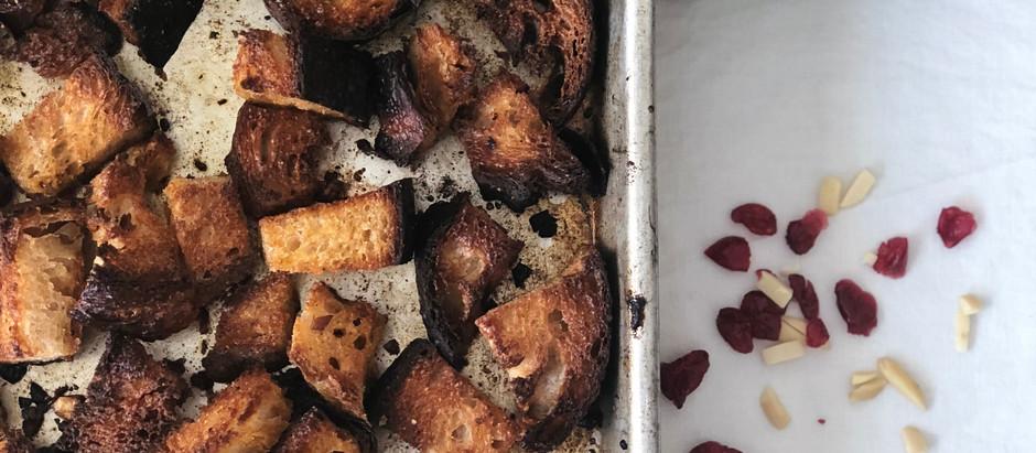 Recipe: Sourdough Bread Croutons
