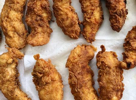 Recipe: Sourdough Discard Battered Fried Chicken