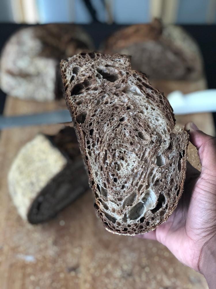 Recipe: Marbled Sourdough Rye Bread
