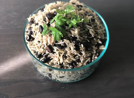 Recipe:  Arroz con Frijoles   Coconut Rice & Beans
