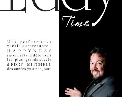 "Affiche du spectacle ""Eddy Time"""