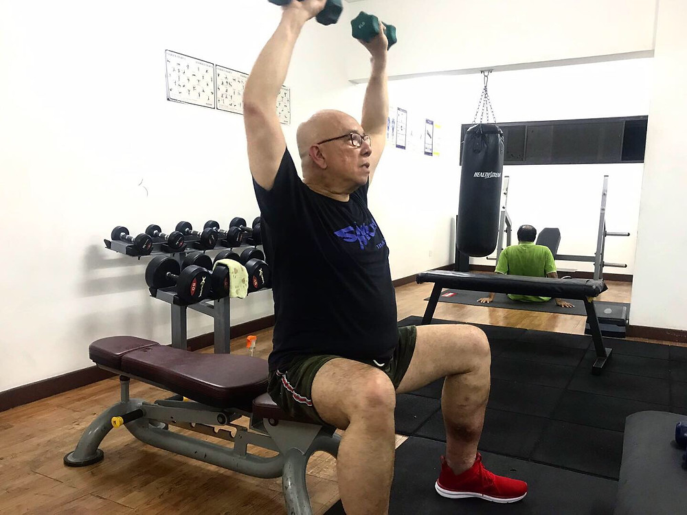 Lawrence, in his 60s, is BMT's oldest client and has been an inspiration to us all as he progresses to achieve his fitness goals.